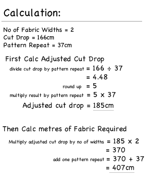 Lined Roman Blind Calculate Fabric Quantities