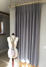 Tutorial How To Make Lined Pinch Pleated Curtains Double