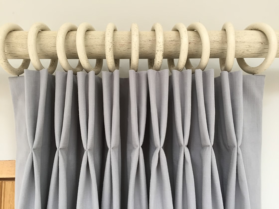 Triple pinch pleat curtains instructions for Curtain making service