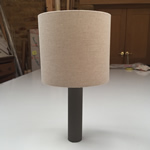 How to make a Lampshde - sinlge shade.