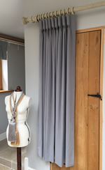 tutorial how to make goblet pleated curtains goblet pleat curtain. Black Bedroom Furniture Sets. Home Design Ideas