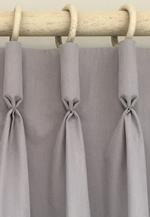 Making a Goblet pleat interlined curtain