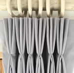 Making a Triple pleat interlined curtain