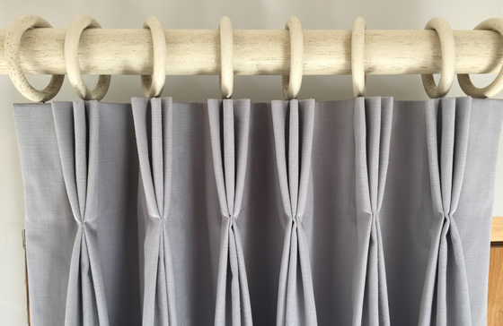 Tutorial How To Make Hand Triple Pleated Lined Curtains