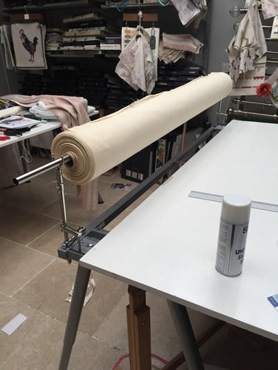 fabric roller